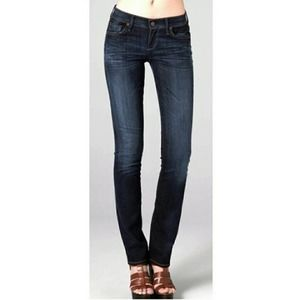 Citizens of Humanity   Ava Dark Wash Low Rise Straight Leg Jeans